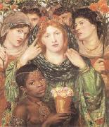 Dante Gabriel Rossetti The Bride (mk09) oil painting picture wholesale
